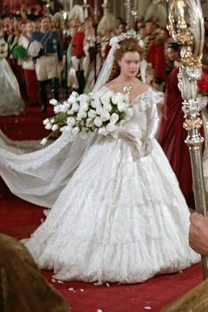 cena casamento filme Sissi 1655