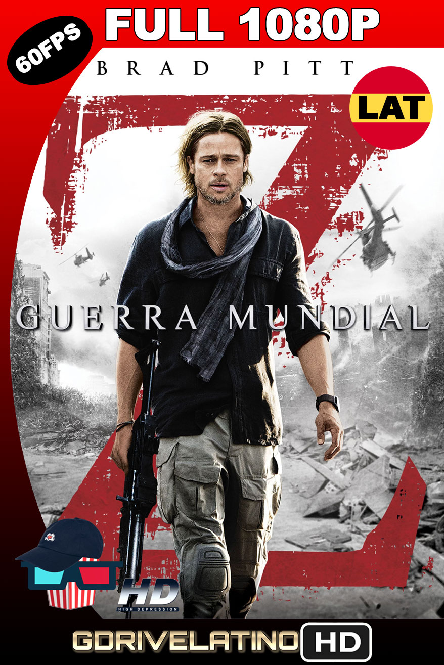 Guerra Mundial Z (2013) [EXTENDED] BDRip FULL 1080p (60 FPS) Latino-Ingles MKV