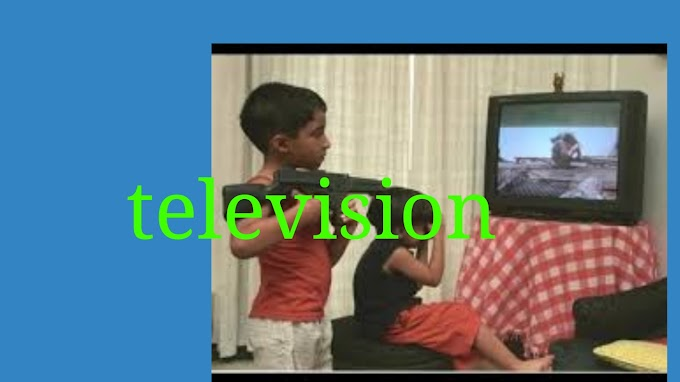 Effect of television on children ,teenager and society