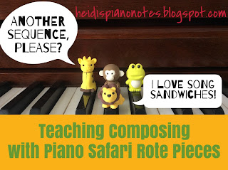 Teaching Composing with Piano Safari
