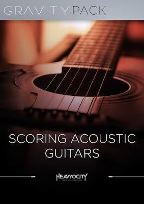 Cover Box da Library Heavyocity - Scoring Acoustic Guitars (KONTAKT)