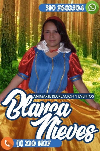 Fiesta infantil con Blanca Nieves