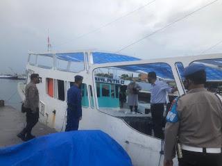 Sosialisai Larang Mudik 2021, Polres Pelabuhan Makassar Imbau Masyarakat di Dermaga Paotere
