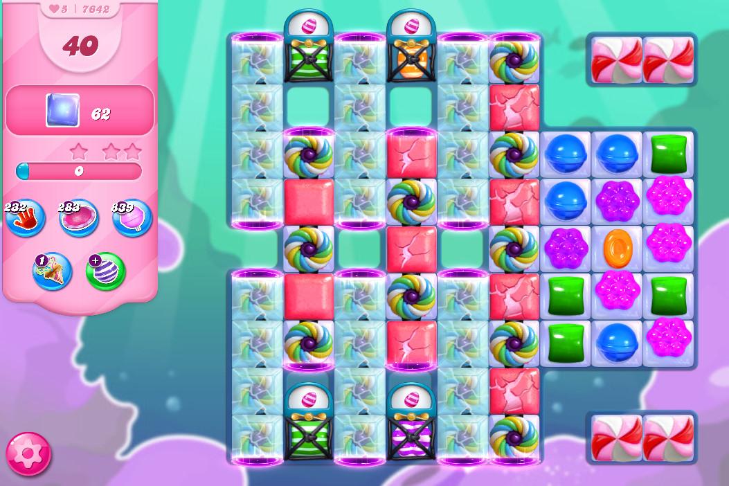 Candy Crush Saga level 7642