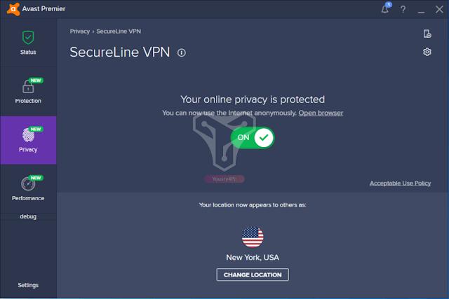 تحميل برنامج Avast SecureLine VPN للتخفي والتصفح الأمن