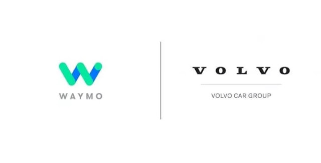 collaboration of  waymo and Volvo