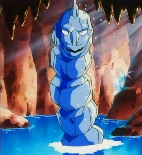 Onix de Cristal Anime Pokémon