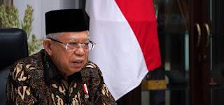 Ma'aruf Amin Dorong Produk Indonesia Kuasai Pasar Halal Dunia