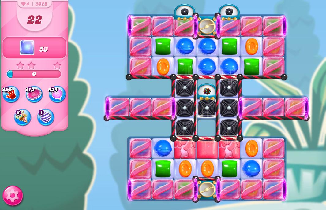 Candy Crush Saga level 8029