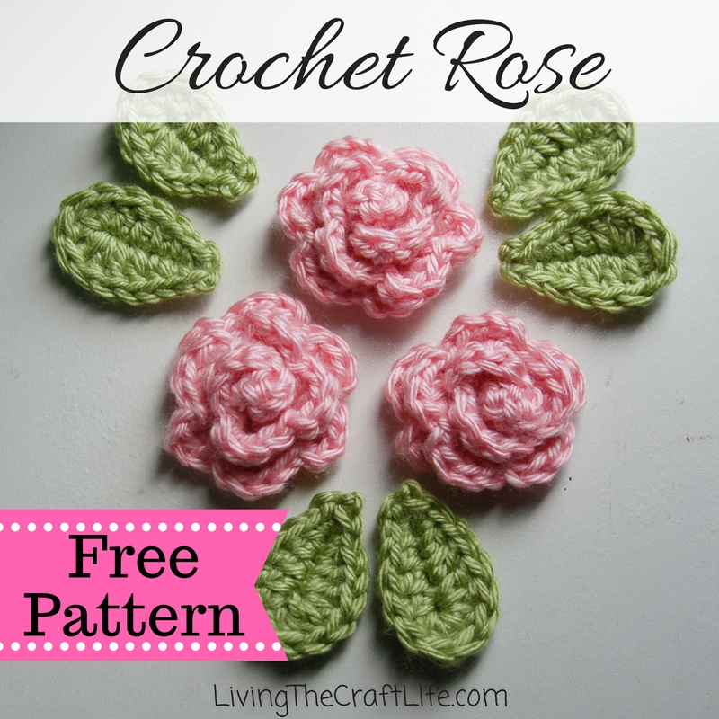 Living The Craft Life Petite Rose Applique Free Pattern