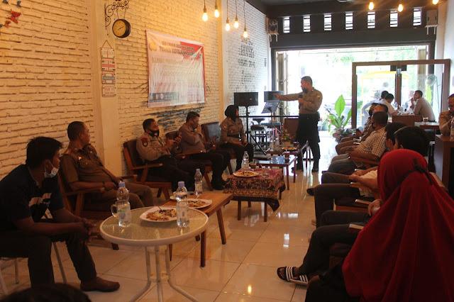 Polres Kep Selayar mengadakan FGD, Membahas Tentang Ilegal Fishing