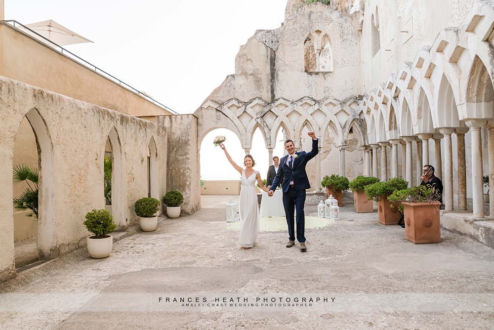 Symbolic wedding ceremony Amalfi coast