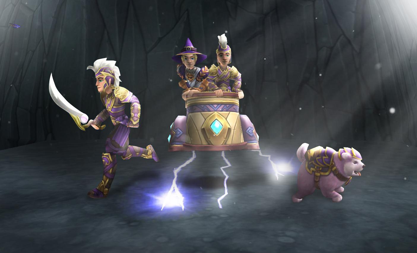 Wizard101 Nimbari Hoard Pack Review - Swordroll's Blog