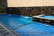 Pembuatan Kolam Renang Villa Sentul, Ibu Sarapofa Perumahan Bukit Golf Hijau Sentul