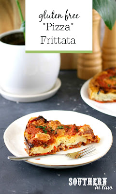 Gluten Free Pizza Frittata Recipe