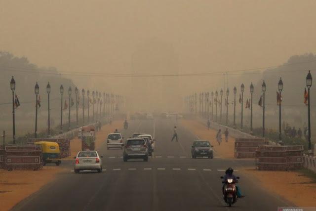 Sekolah di New Delhi tutup sampai 5 November akibat polusi udara