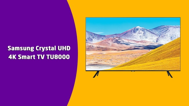 Samsung Crystal UHD 4K Smart TV TU8000