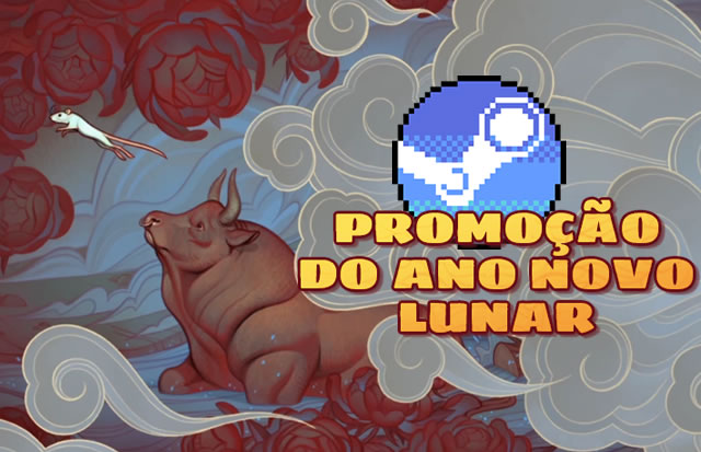 Começou a promoção de Ano Novo Chinês 2020 na Steam (Tem Itens Grátis)