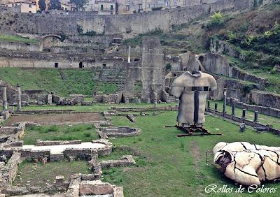 Termas y Teatro Romano Volterra