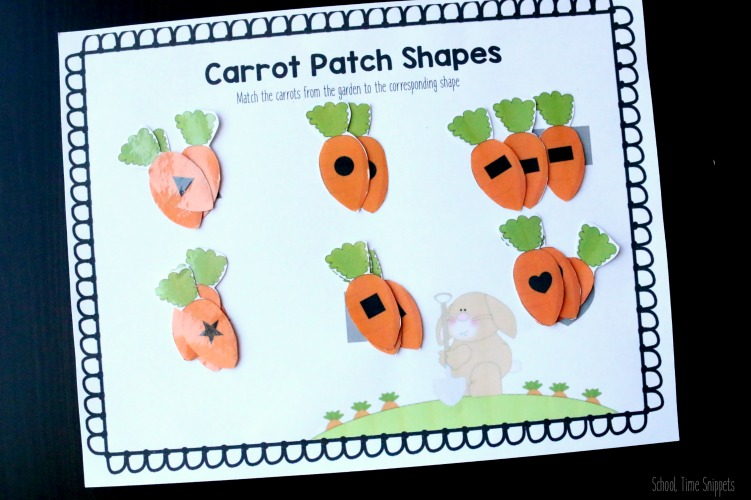 Carrot Shape Matching