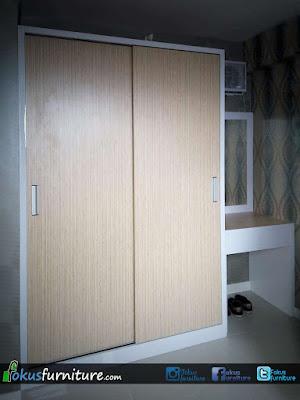 Lemari apartemen Basura