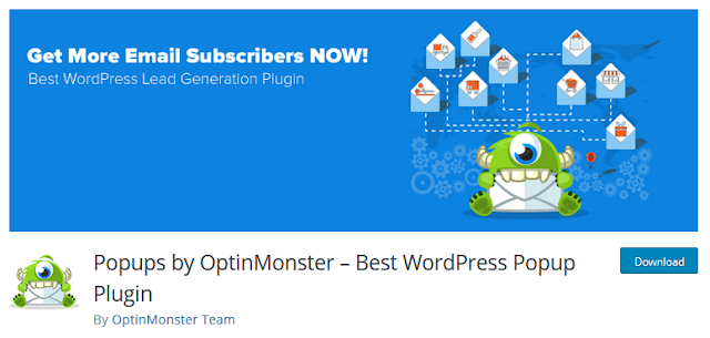 OptinMonster Popup Plugin for Wordpress