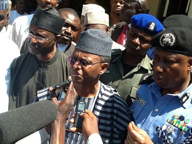 Governor Nasir El-Rufai of Kaduna State has stated that President Muhammadu Buhari is ready to give up power for Nigeria to move forward.