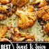 Clean Eating | Sweet and Spicy Baked Cauliflower