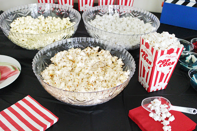 Homemade Buttered Popcorn
