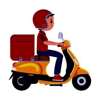 Showing Delivery Boy Image