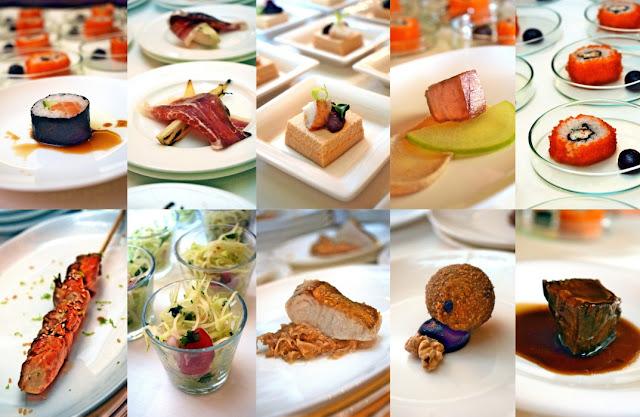 Speisen von Küchenchef Simon Stirnal