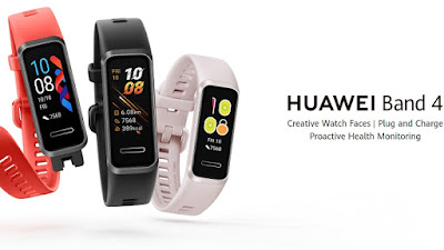 Vòng đeo tay Huawei Band 4 thông minh chống nước sử dụng pin 9 ngày giá siêu hot | Tìm hiểu
