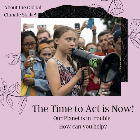 Our Planet is in Trouble- Make YOUR Voice Heard! - Global Climate Strike