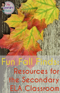 Find fun fall resources for your secondary English Language Arts classroom to use throughout the spooky season and celebrate Halloween, Daylight Savings, and Election Day.