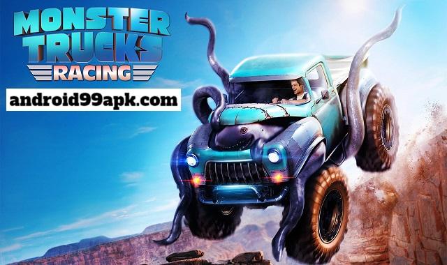 لعبة Monster Truck Racing v3.4.113 مهكرة كاملة بحجم 205 MB للأندرويد