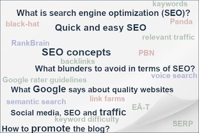 blog seo and traffic