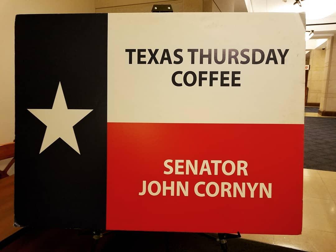 Coffee with John Cornyn