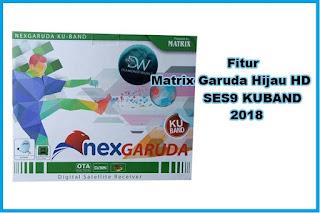 Fitur Receiver Matrix Garuda Hijau HD SES9 KU Update 2018