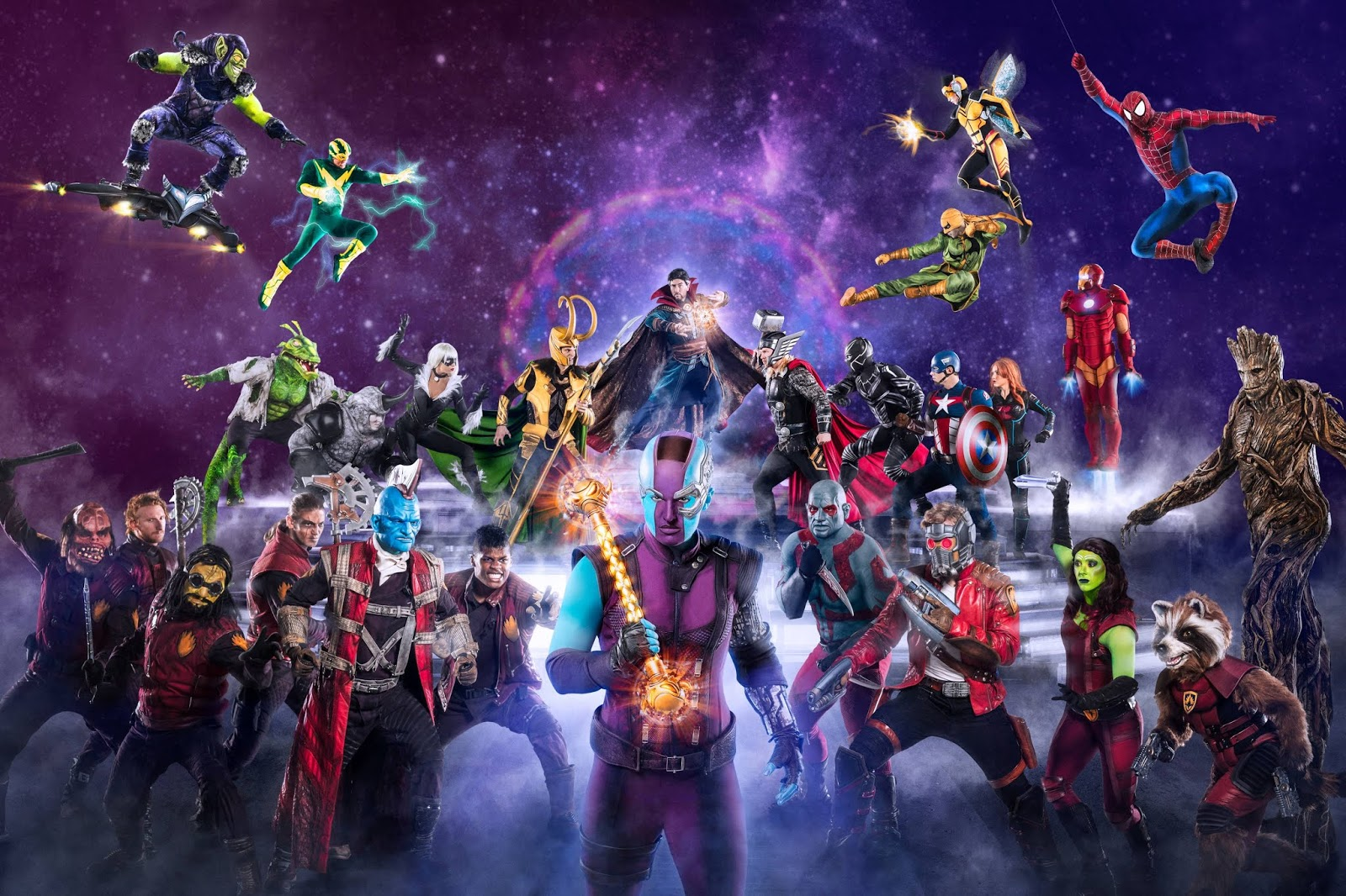 PHOTO: Marvel Heroes face off agains the villains.Marvel Universe LIVE! will visit Newcastle in 2019 - here's how to sign-up for priority tickets