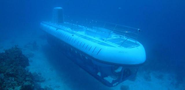 Submarino na Ilha de Cozumel em Cancún