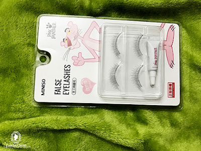 Miniso eye lashes review