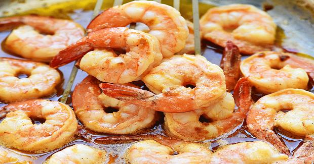 Hawaiian Style Garlic Shrimp Recipe