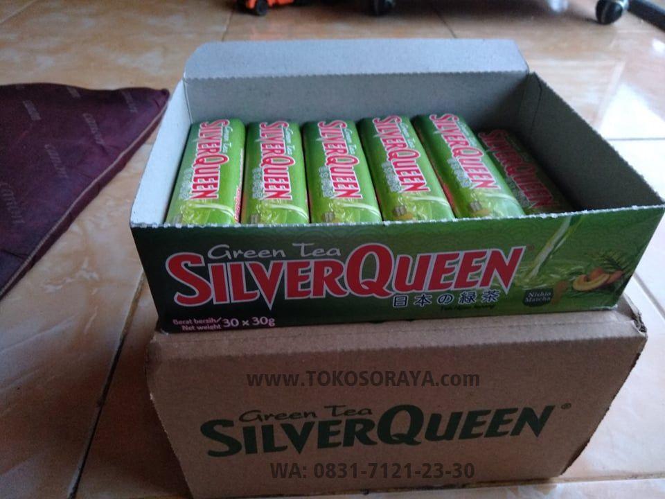 jual jajajan coklat Silver Queen Rasa Teh Hijau (Green Tea)