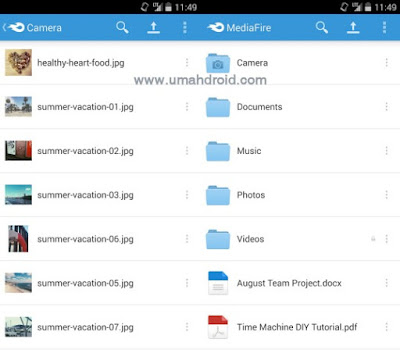 Mediafire Cloud Storage Apps Android