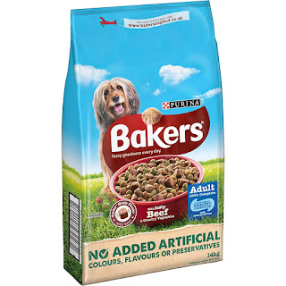 Providing vitamin mineral important dog's health, Bakers Beef purina 14 kg £16.00