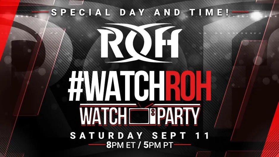Novos campeões são coroados nas gravações do ROH Wrestling