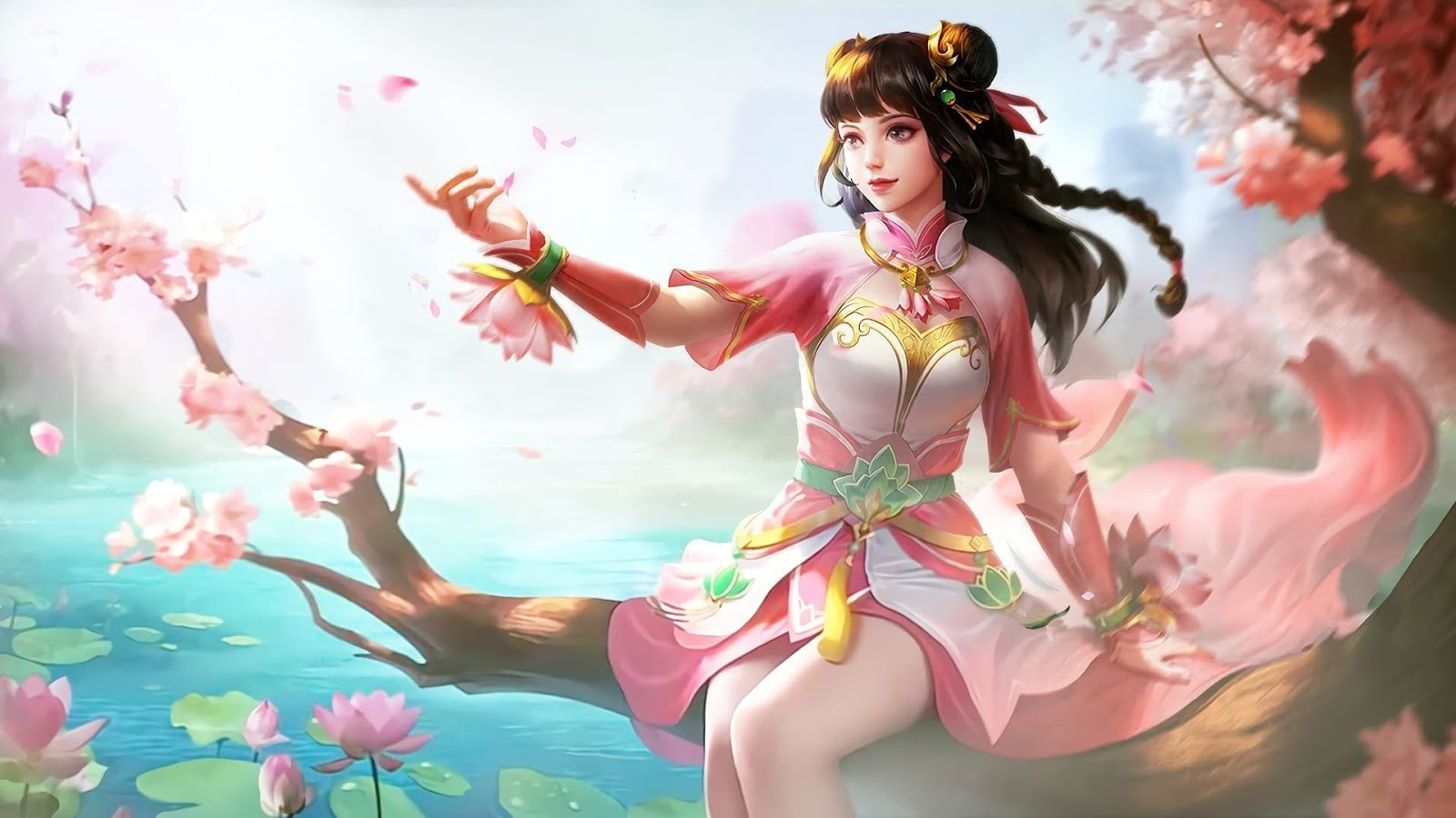 Wallpaper Guinevere Lotus Skin Mobile Legends HD for PC