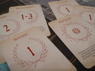 The Horus Heresy: Burning of Prospero warp power cards