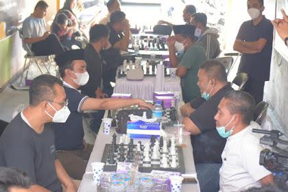 Gubernur Ikut Bertanding, Beri Apresiasi Tinggi Turnamen Catur Mi6