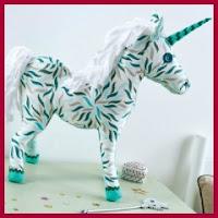 Unicornio de tela